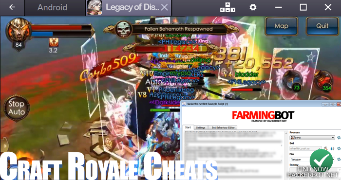 Legacy of Discord: FuriousWings Bots, Hacks and other