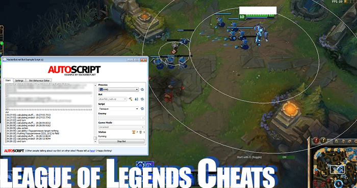league of legends cheat program