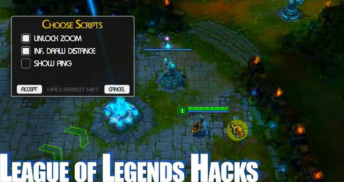 League of Legends Hacks (Zoom Hack)