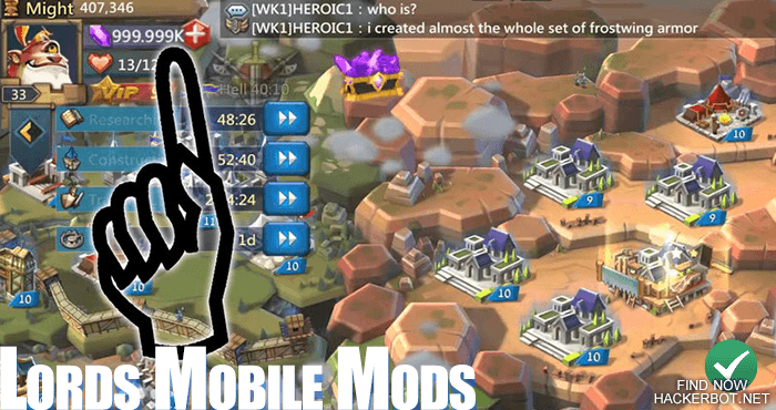 Lords Mobile Hacks, Mods, Bots and other Cheats for Android / iOS