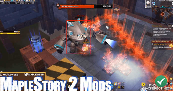 Maple story bot download
