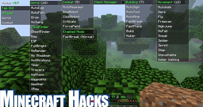 Minecraft Hacked Clients (MC Hacks)