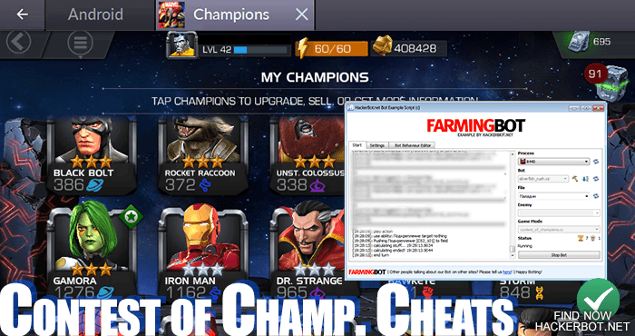 MARVEL Contest of Champions Mods, Hacks, Bots and Cheats for Android