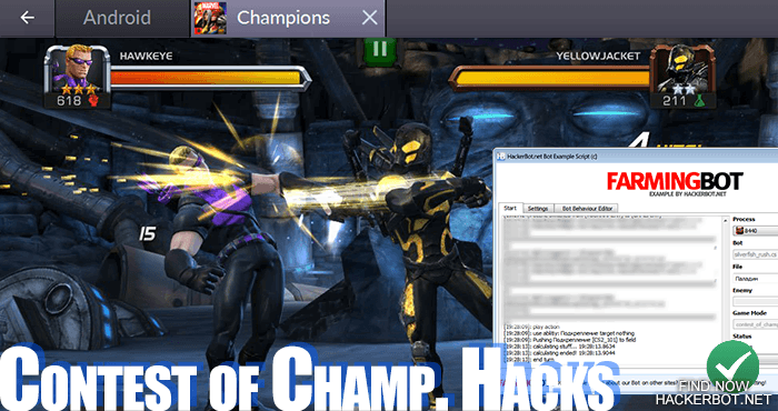 marvel contest of champions hack android apk