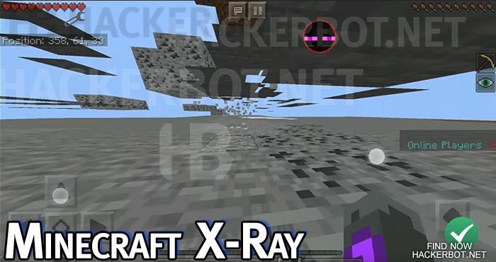 minecraft pocket edition x ray esp