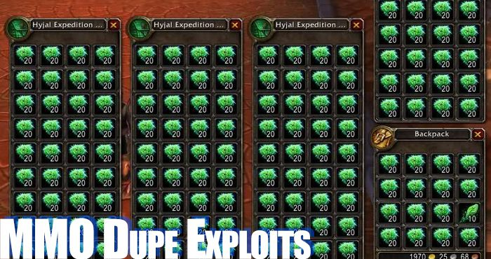 mmo dupe exploits