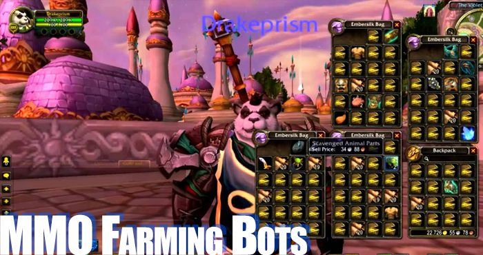 Online Game Bots: Automatic Farming Software for Multiplayer Games