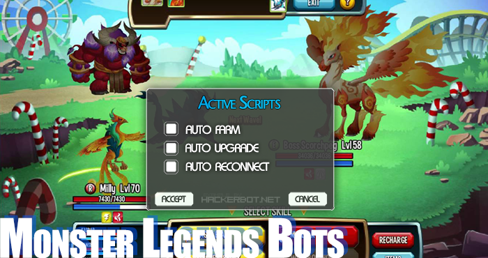 monster legends bot