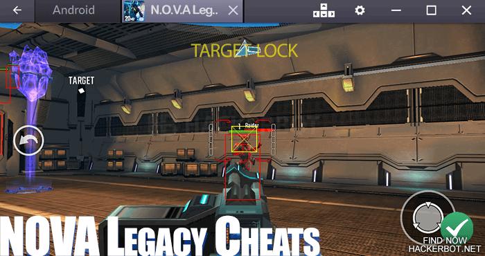 descargar nova legacy hack apk