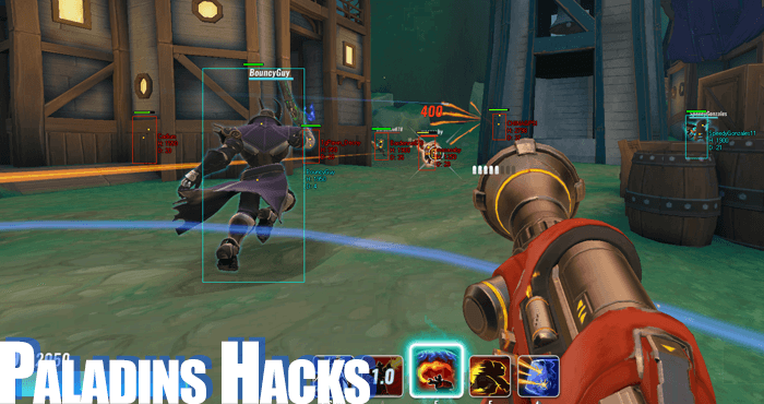paladins cheats hacks