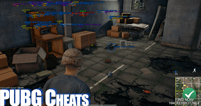 PUBG Hacks, Aimbots, Wallhacks and other Cheating Software