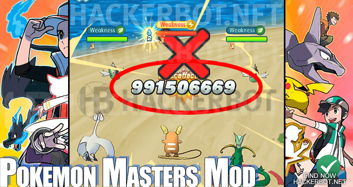 Pokemon Masters Hack Mods, Cheats, Mod Menus and Bots for