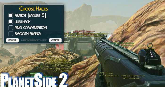 aimbot hack for planetside 2