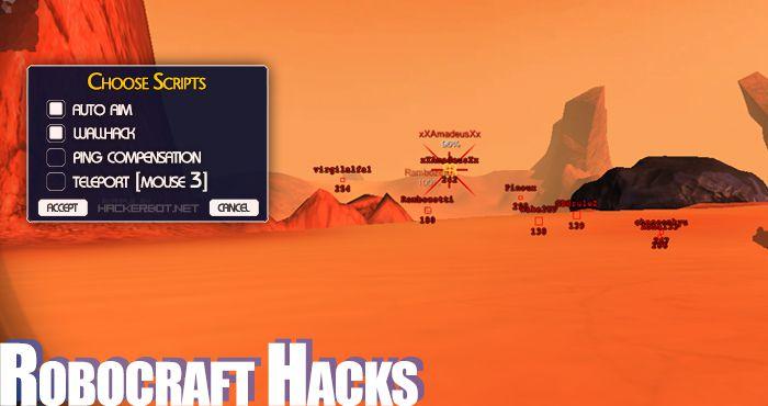 Robocraft Hacks, Cheats, Exploits and Aimbots