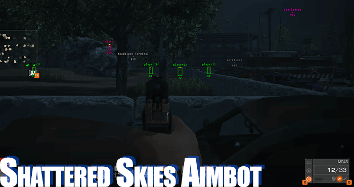 shattered skies aimbot