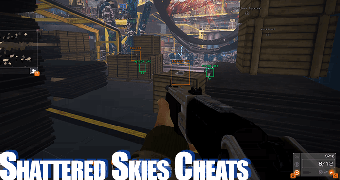 shattered skies cheats
