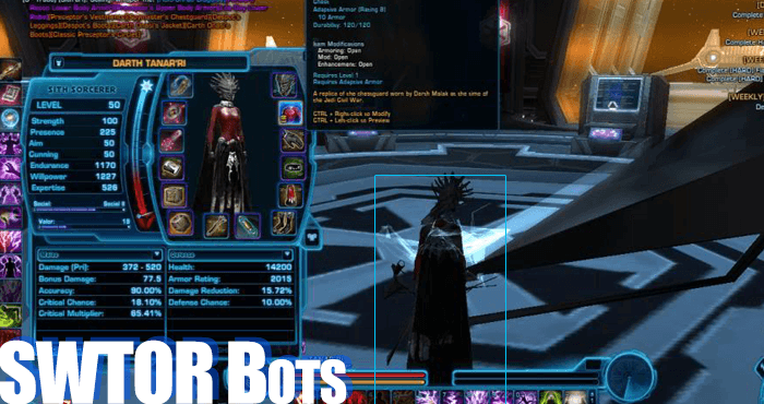 Star Wars: The Old Republic (SWTOR) Cheats, Hacks and Bots