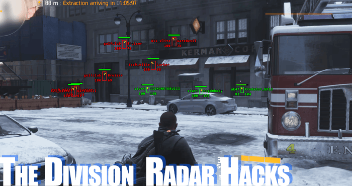 the division tom clancy wallhack