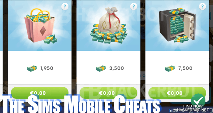 the sims mobile free stuff cheat