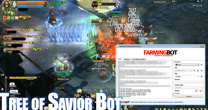 tree of savior bot auto farm