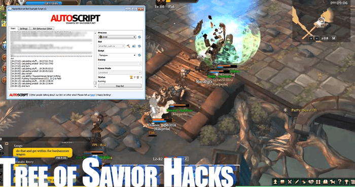 tree of savior hack