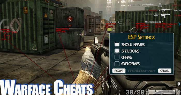 warface cheats