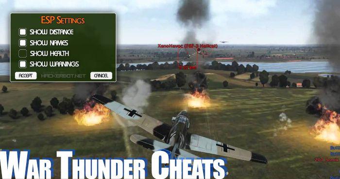 cheat codes for war thunder
