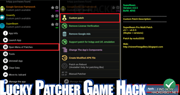 lucky patcher game mods apk