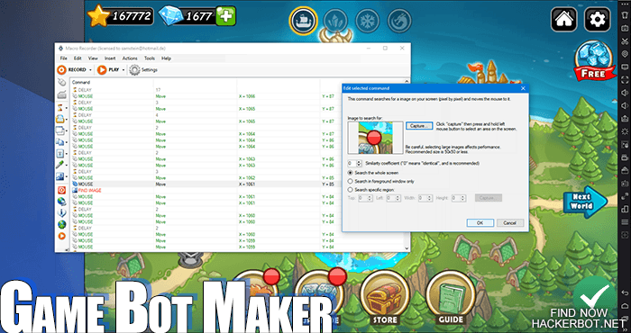 How to Create your own Game Bot using easy Bot Maker Software (PC