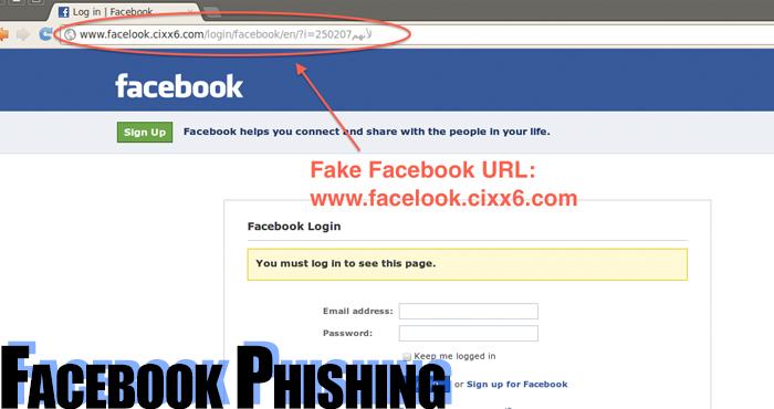 Facebook şifre kırma - Hesap çalma