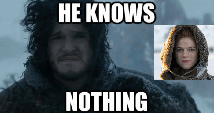john snow knows nothing