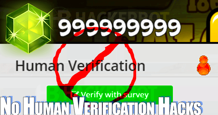 How to Hack Games with No Human Verification and without Surveys