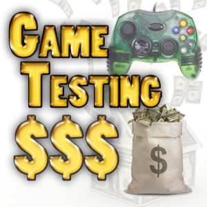 Earning Money from game Testing