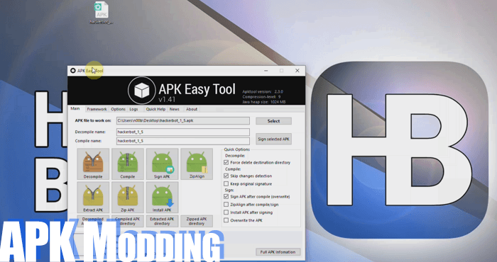 How to mod APKs and Create your own Modded APK Hacks for