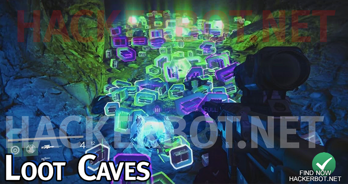 loot caves farming spots